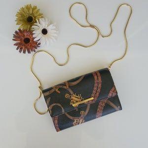 Ralph Lauren Crossbod Gold Chain Purse Bag